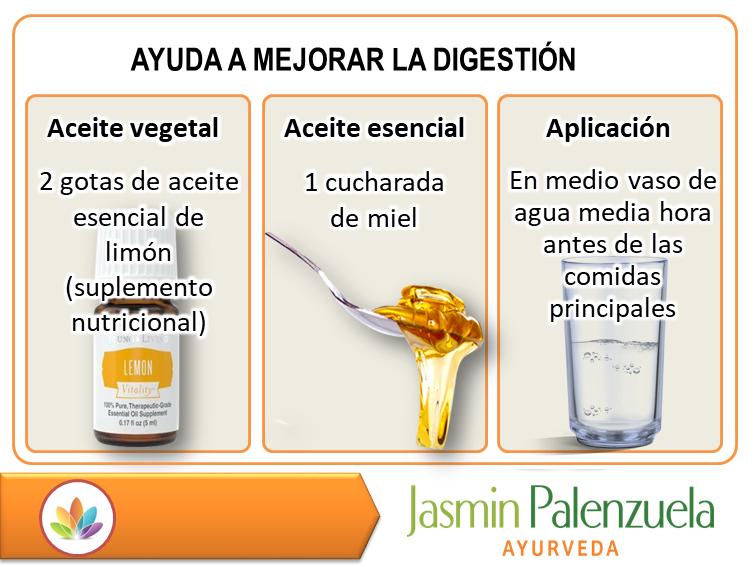 Aqui tienes una manera sana de ayudar a tu digestión.