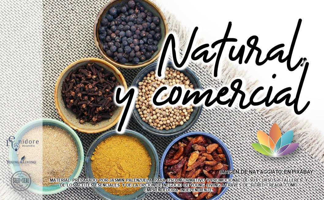 Natural y Comercial